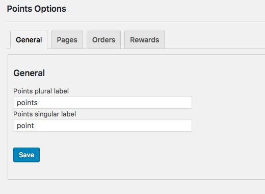 Woocommerce Points System 2
